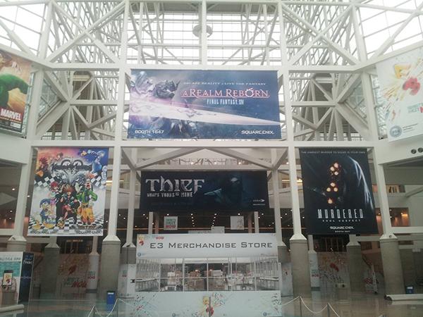 Quang cảnh E3 2013 trước giờ khai mạc 1