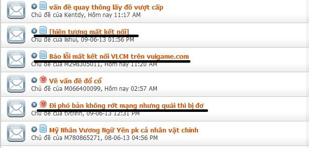 Game thủ Võ Lâm Chi Mộng uất ức với tình trạng server không ổn định 2