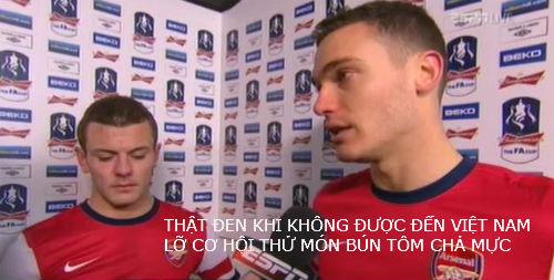 Ảnh chế hài hước Arsenal sang Việt Nam 6