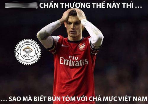 Ảnh chế hài hước Arsenal sang Việt Nam 8