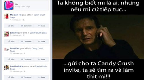 Candy Crush Saga và những câu chuyện dở khóc dở cười của teen Việt 3