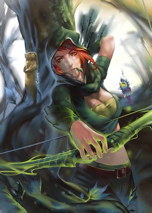 Fan art DOTA 2: Windrunner – đứa con của thần gió 4