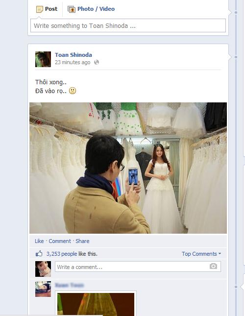 Chia tay An Nguy, Toàn Shinoda bất ngờ khoe ảnh cưới? 2