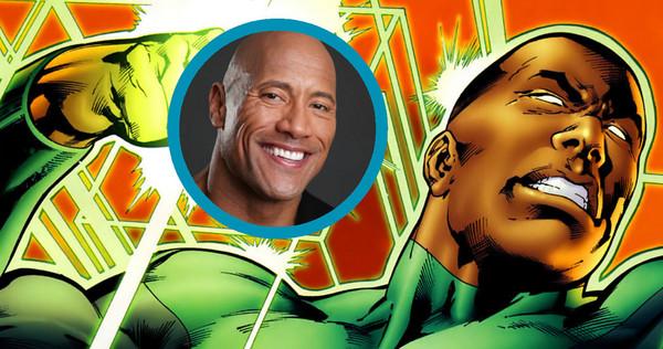 Diễn viên cơ bắp Dwayne Johnson sẽ đóng vai Green Lantern 3