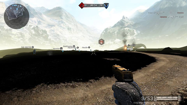 Cộng đồng Warface loạn vì bug nhìn xuyên tường 2