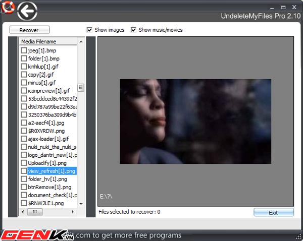 UndeleteMyFiles Pro: Khôi phục dữ liệu với nhiều tính năng hữu ích 2