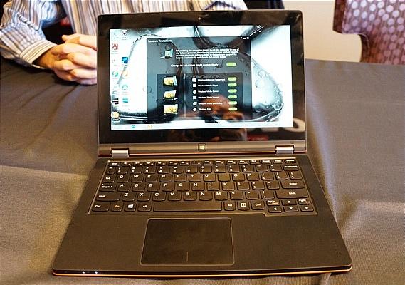 Lenovo công bố IdeaPad Yoga 11S: Laptop gập với sức mạnh Ivy Bridge 6