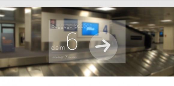 JetBlue - Tính năng độc đáo trên Google Glass 3