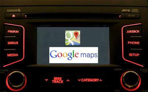 Google Maps được tích hợp trên các mẫu xe mới của Kia Motors 1