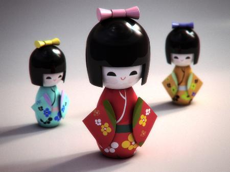 Tìm hiểu về Kokeshi - Búp bê gỗ Nhật Bản 4
