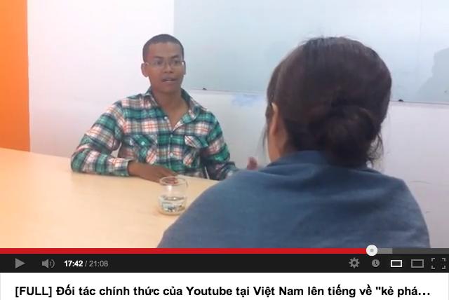 Diễn biến tiếp theo của vụ nhiều video Youtube Việt 'mất tích' 3