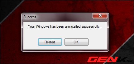 Cách xóa bỏ hệ điều hành Windows cài song song 6