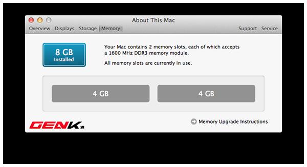 Kéo dài tuổi thọ cho máy Mac (Phần 1) 2
