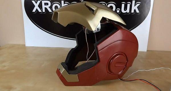 Độc đáo với mũ tự động phong cách Iron Man 5