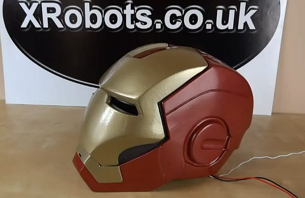 Độc đáo với mũ tự động phong cách Iron Man 1