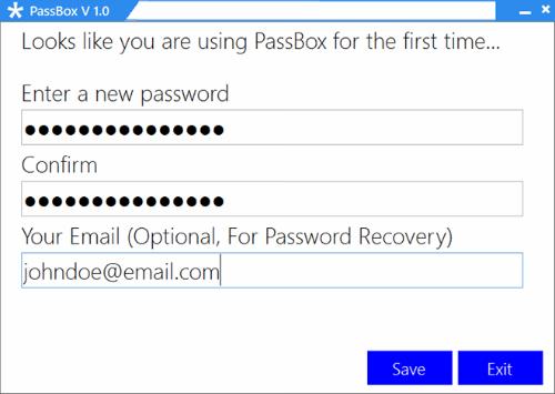 Quản lý mật khẩu trên Windows với PassBox 1