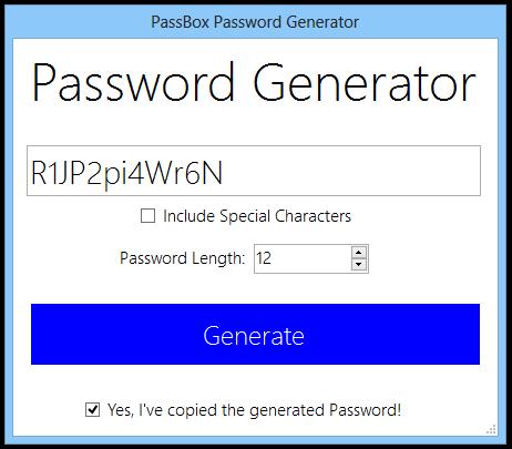 Quản lý mật khẩu trên Windows với PassBox 3