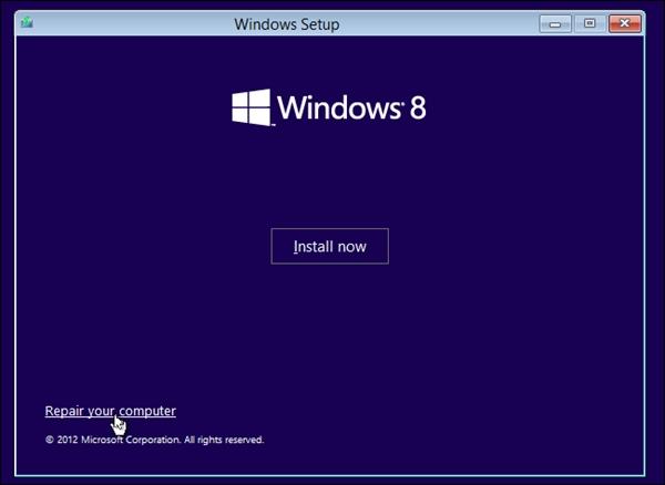 Những cách gỡ bỏ hệ điều hành nhân Linux được cài song song Windows 8 6