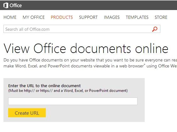 Xem các tài liệu Office trực tuyến thông qua dịch vụ của Microsoft 1
