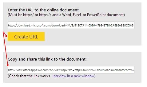 Xem các tài liệu Office trực tuyến thông qua dịch vụ của Microsoft 3