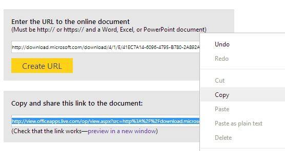 Xem các tài liệu Office trực tuyến thông qua dịch vụ của Microsoft 4