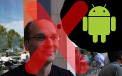 Andy Rubin bị giáng chức vì bất đồng với CEO Google 1