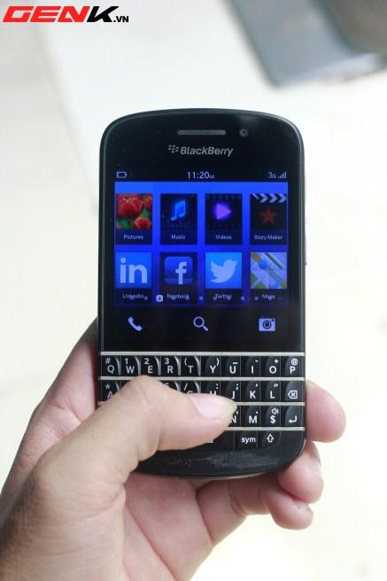 BlackBerry Q10 về Việt Nam: Màn hình vuông, bàn phím lớn nhất từ trước tới nay 26