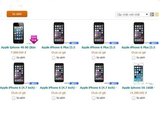 Viettel âm thầm cho đặt mua iPhone 6 với giá từ 16,5 triệu