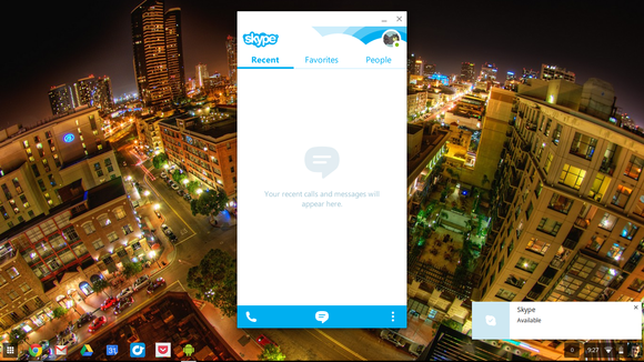 4.3 skype on chrome os