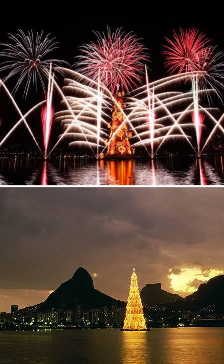 Nổi lớn nhất thế giới của Christmas Tree (Brazil)