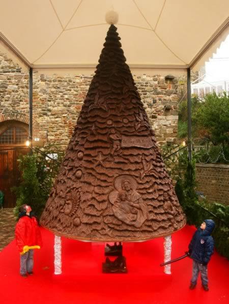 Chocolate Christmas Tree (Pháp)