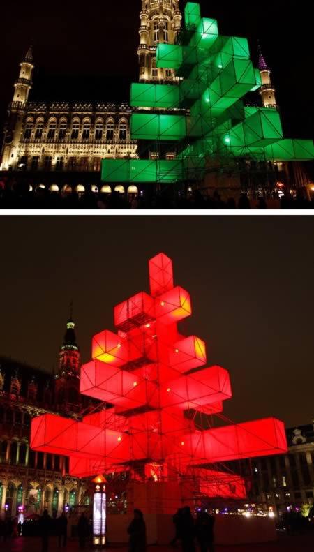 Giáng sinh điện tử Tree (Bỉ)