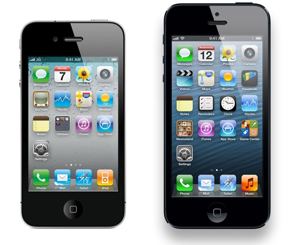 iPhone 4S - iPhone 5