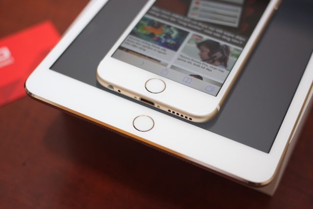 Touch ID là nâng cấp duy nhất về phần cứng trên iPad mini 3.
