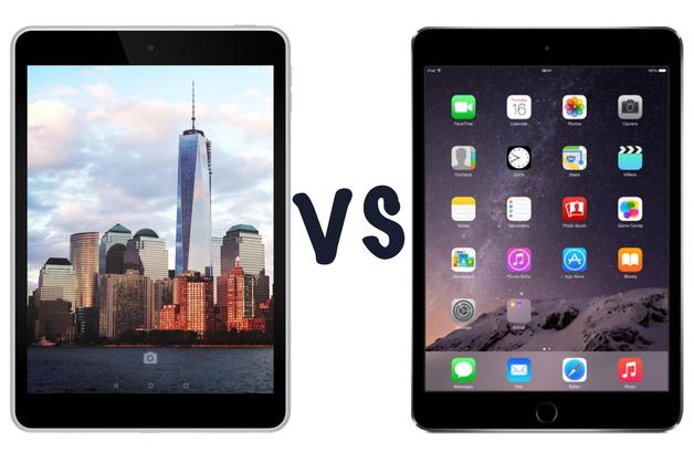Nokia N1 và iPad mini.