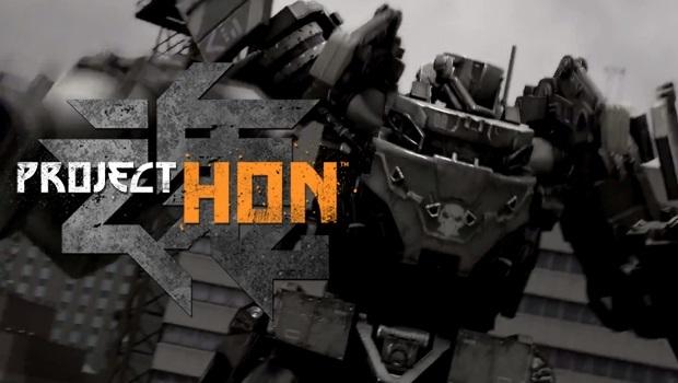 Project HON - Game online đề tài robot mới toanh