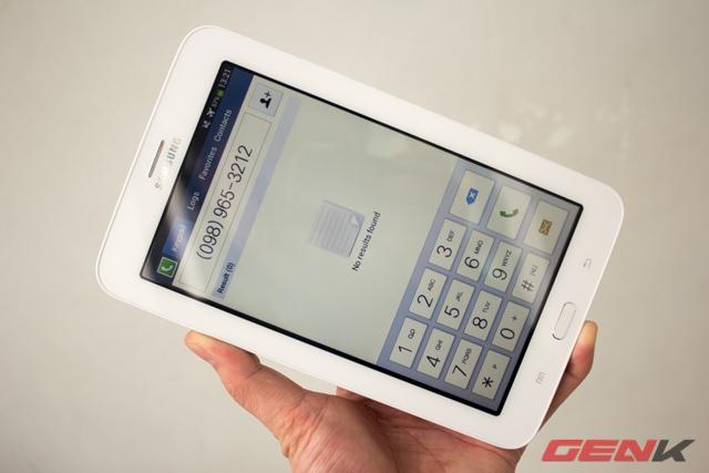 Galaxy Tab 3 Lite phiên bản 3G có thể gọi điện, nhắn tin.