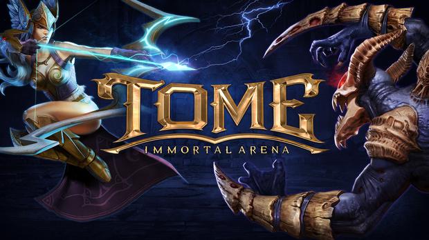 Tome: Immortal Arena - MOBA hoành tráng sắp ra mắt