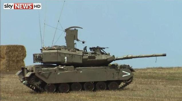 Đây có phải là của Israel Top Secret Guided Missile Launcher ngụy trang như một xe tăng