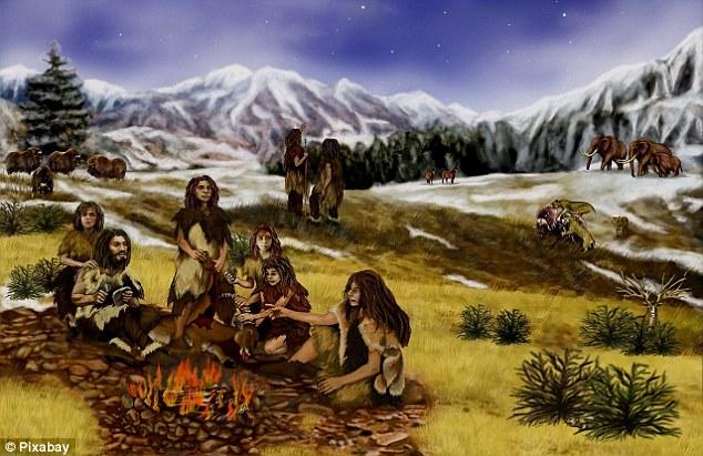 Con người được biết đã bị săn khổng lồ băng tuổi như voi ma mút và những phát hiện mới nhất cho vay hỗ trợ cho giả thuyết rằng nó là dòng của các thợ săn của con người vào Bắc bán cầu đã dẫn đến sự tuyệt chủng