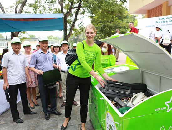 Với sự hỗ trợ của tổ chức Vietnam Recycles Platform, Việt Nam sẽ sớm có công nghệ xử lý chất thải điện tử an toàn.