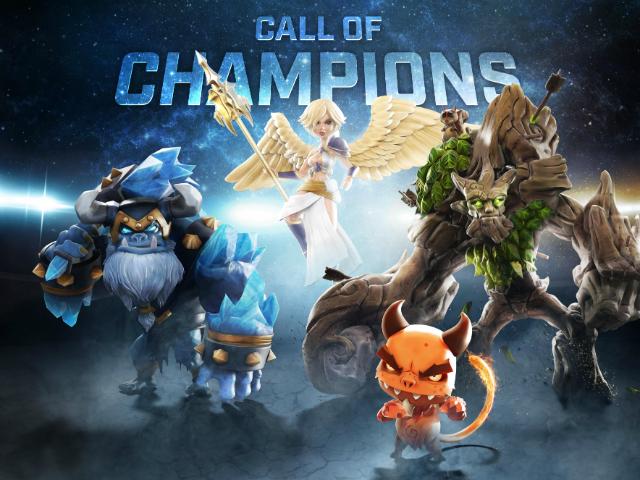 MOBA miễn phí Call of Champions sẽ bùng nổ trong năm 2015