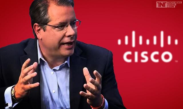 Carl Wiese từng làm việc tại Cisco trong 12 năm.