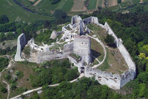 Lâu đài Csejthe ngày nay.