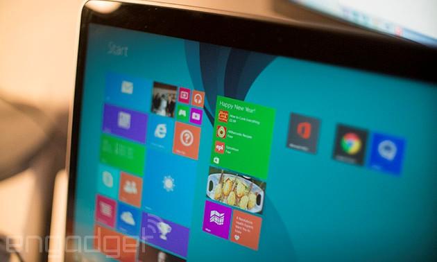 Người dùng Windows 8.1 sắp có thêm bản cập nhật để sửa lỗi bảo mật đáng lo ngại này. Ảnh: Engadget