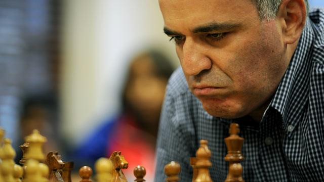 Đại kiện tướng Garry Kimovich Kasparov.