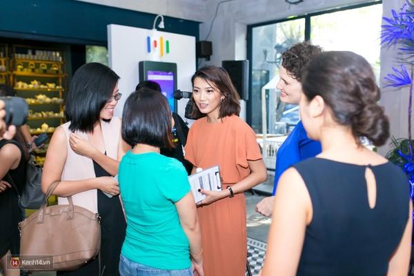 Nữ giám đốc Google Việt Nam rất thân thiện với mọi người.