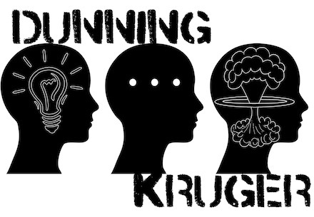 Nhưng người đao to búa lớn thường nằm trong hiệu ứng Dunning - Kruger.