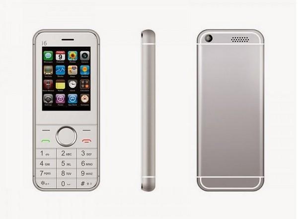Dopod I6 phiên bản màu bạc.