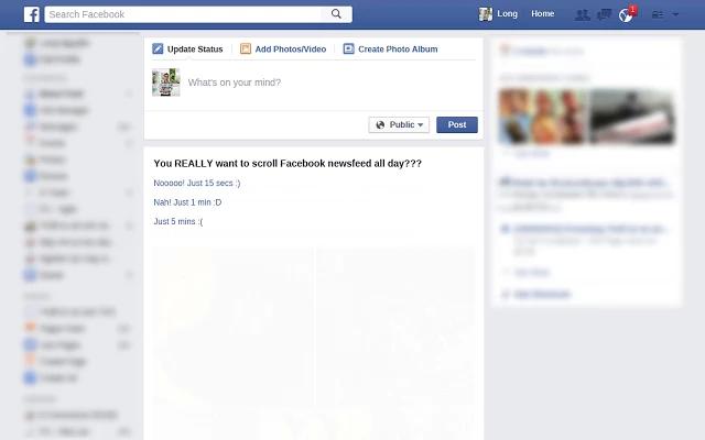Cơ chế hoạt động của Stop Scrolling Facebook